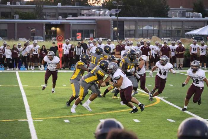 Photos: Belleville HS unveils new turf field in home football opener vs. rival Nutley
