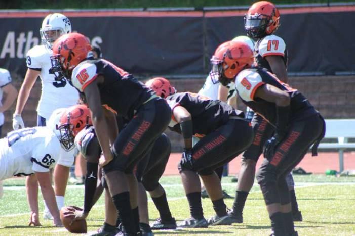 Orange football team participates in Zone6ix High School Kickoff Classic