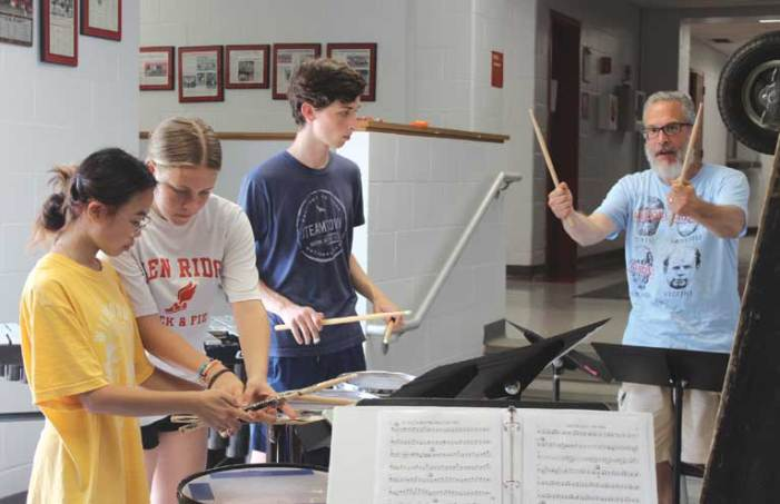 Glen Ridge HS marching band is eager to return to competition