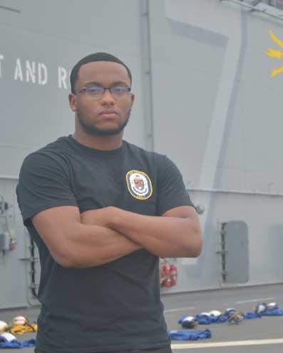 Newark native serves aboard U.S. Navy's newest amphibious assault ship
