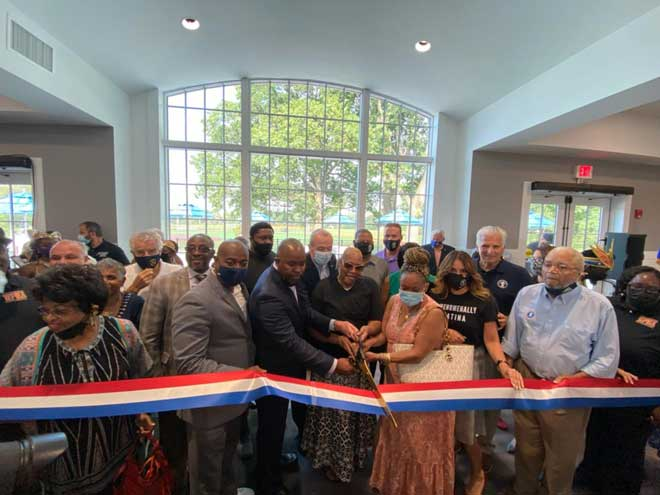 County dedicates new community center building in Weequahic Park