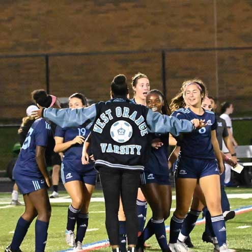 West Orange HS girls soccer team wins in ECT semifinal, joins WOHS boys team in the ECT finals on Oct. 16