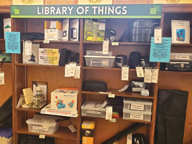 Library of Things proves to be a hit at Glen Ridge Public Library