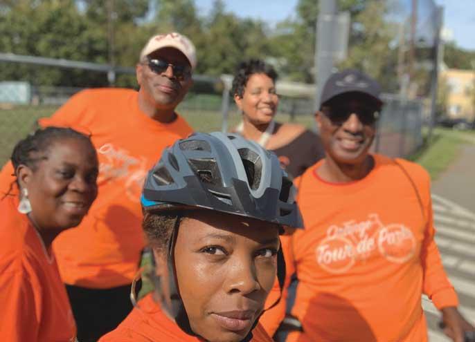 Orange holds bike tour featuring historic landmarks