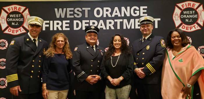 West Orange firefighters promoted to deputy chief and captain