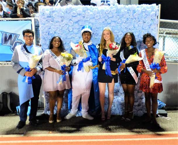 West Orange High School crowns its 'Homecoming Royalty'