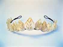 Mother of Pearl Leaf tiara sized for web a