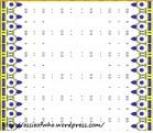 Crown fabric deisgn- Blue stones