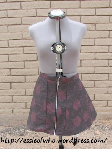 Cotton skirt alone.