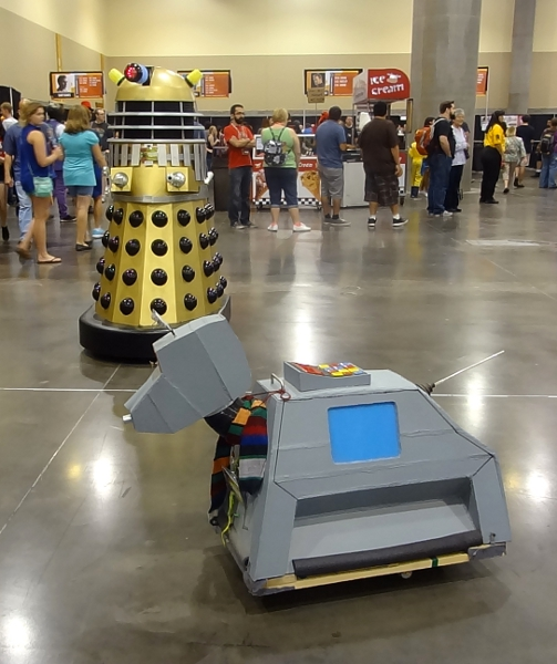 K-9 and Dalek Rel