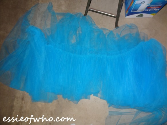 cinderella gown tulle