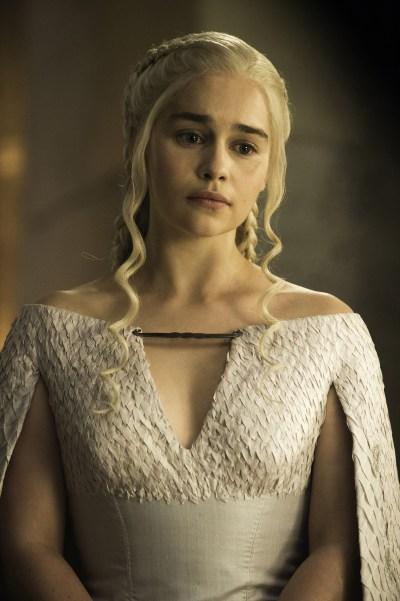 Daenerys white dress season 5