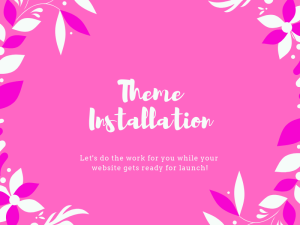 Theme installation
