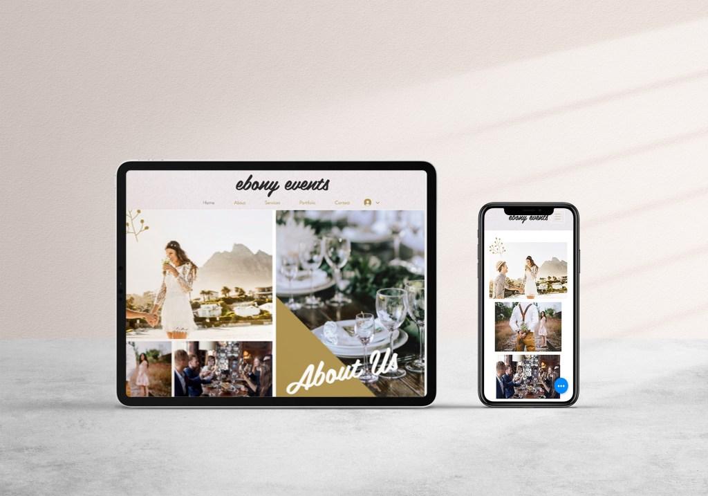 Digital-Mockup-for event designer