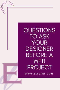Questions to ask your designer before a web project