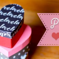 Paper Heart Gift Box Tutorial