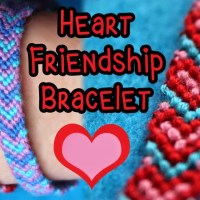 Heart Friendship Bracelet Tutorial