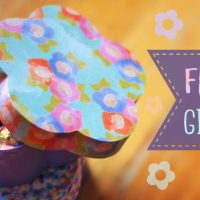 Flower Shaped Paper Gift Box Tutorial