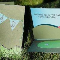 Golf Themed Pop-Up Card Tutorial