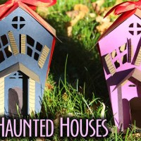 Paper Haunted House Tutorial