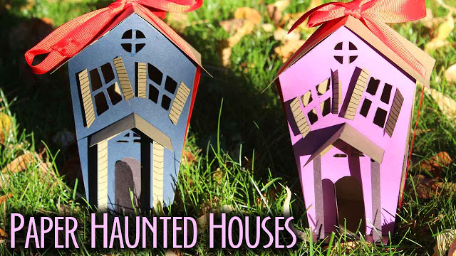 Paper Haunted Houses