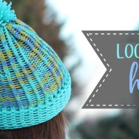 Easy Loom Knit Hat Tutorial - Knit & Purl Stitches