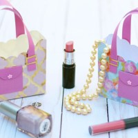 3D Paper Purse Tutorial for Mother's Day