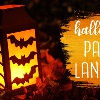 Spooky Halloween Paper Lantern Tutorial!