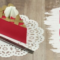 3D Paper Pie Slice Gift Boxes 🍂 Thanksgiving Crafts