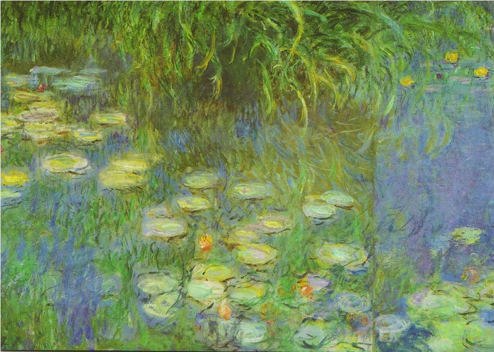 Claude Monet 莫內 – 睡蓮 | est100 一些圖