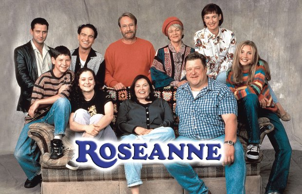 Roseanne, The Final Season Episode 2  Est 1997. Minimalist Wall Murals. Sparkle Stickers. Spray Paint Logo. Pool Murals. Tobacco Signs. Cop Logo. Reaction Signs. Romantic Lettering