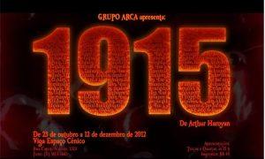 Arthur, Haroyan, Jô, 1915, Genocídio, Armênio
