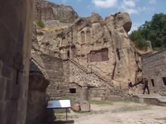 Hatchkars (cruz em pedra) entalhados