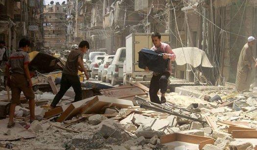 Foto: AP/Aleppo Media Center