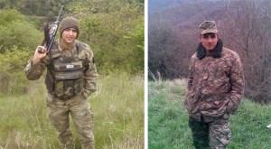 Azat Asoyan e Ararat Khanoyan, mortos em combate contra forças azeris