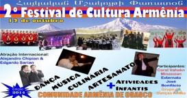 festival de cultura Armenia