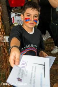 Tro Kalaydjian de 7 anos. Foto: Douglas Asarian