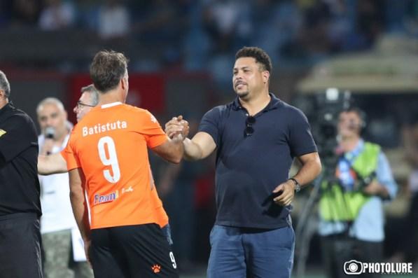 Ronaldo e Batistuta - Photolure