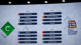 Grupo da Armênia é definido na Liga das Nações UEFA 2020/2021