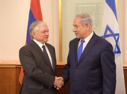 PM-Netanyahu-and-Armenian-FM-Nalbandian
