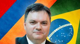 Arman Akopian é anunciado como novo embaixador da Armênia no Brasil
