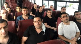 15 prisioneiros de guerra retornam à Armênia