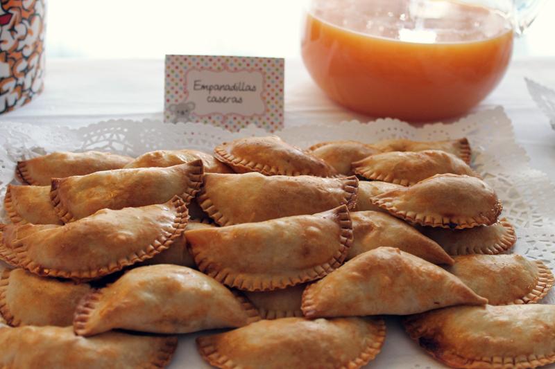 Empanadillas, nuestro primer cumple