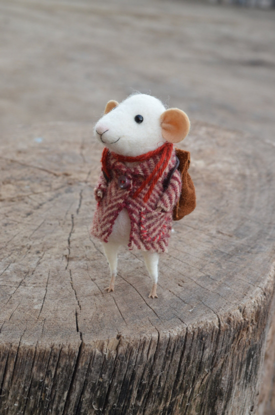 Felting Dreams, pequeños ratones viajeros