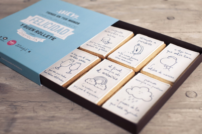 Caja de galletas Mr. Wonderful
