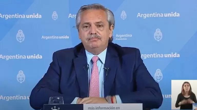 """Photo of Alberto Fernández sobre el coronavirus: """"Vamos a vacunar a 300 mil personas antes de fin de año"""""""