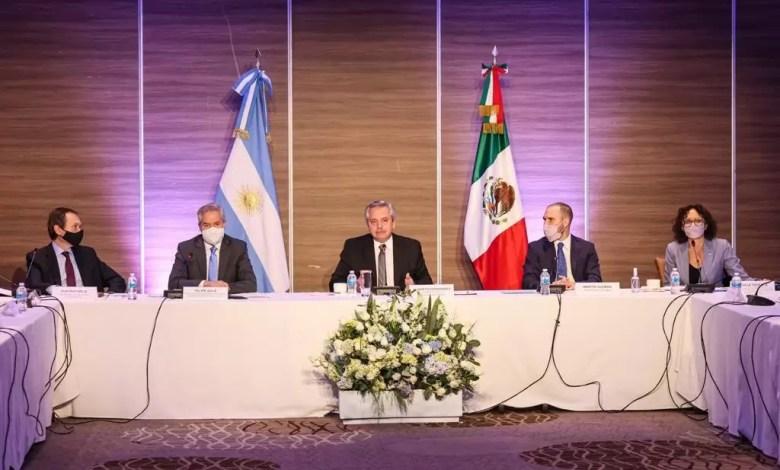 Photo of Alberto se reunió con empresarios mexicanos por inversiones