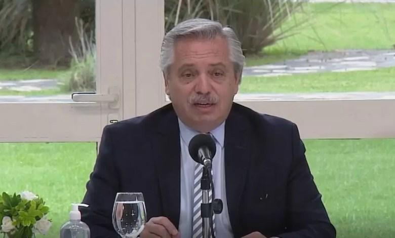 Photo of Alberto Fernández anunciará esta tarde las nuevas restricciones