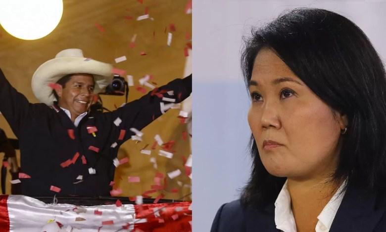 Photo of Perú elige presidente: diferencia entre Pedro Castillo y Keiko Fujimori es de 49,420 votos