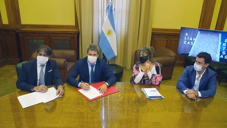 Photo of San Juan firmó con Nación un convenio para difundir actividades deportivas y culturales en medios públicos